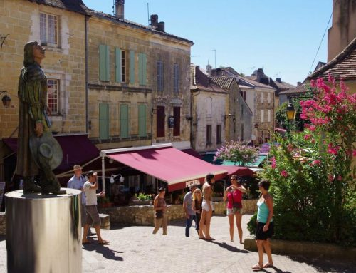 La ville de Bergerac